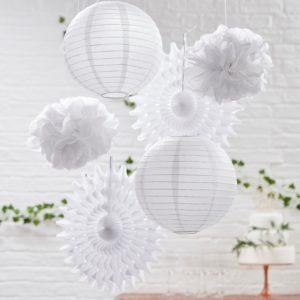 Hangdecoratie wit