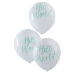 ballonnen hello world