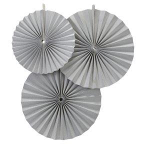 Waaiers zilver fans