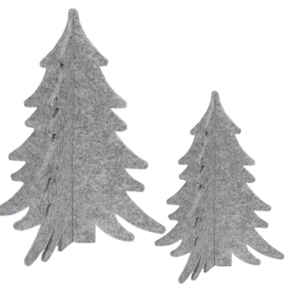 Kerstboompjes vilt - Nordic home collectie