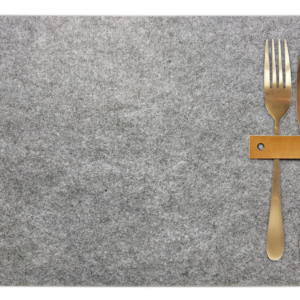 Placemats vilt grijs Nordic Home Collectie