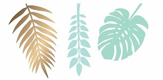 Mint groen goud democratie bladeren